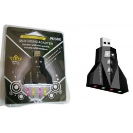 SCHEDA AUDIO USB 3D SOUND 7.1