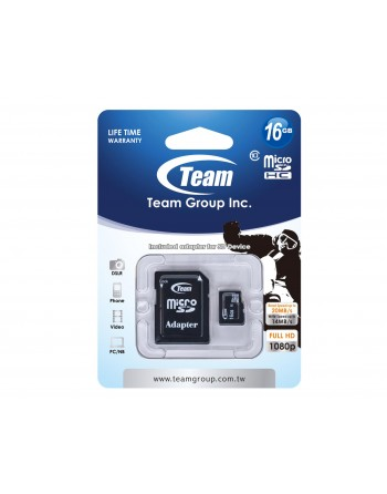 Micro Sd 16 gb   Team group...